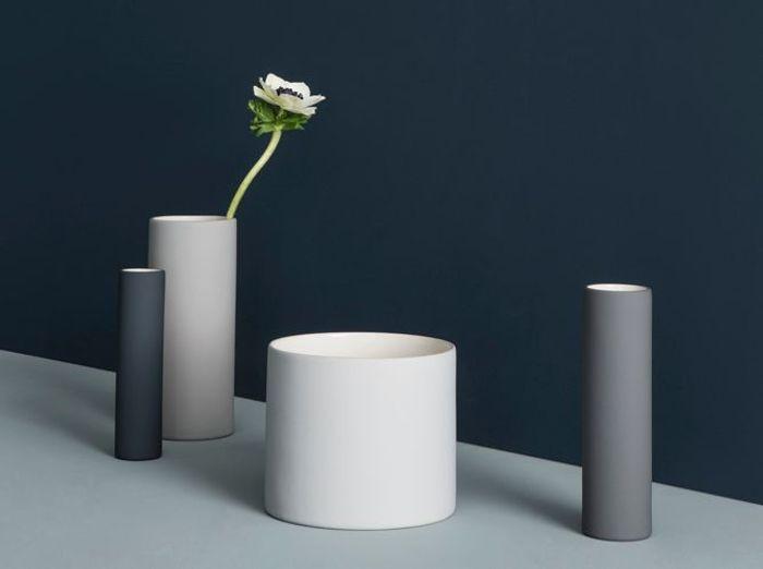Vases Gris Ferm Living