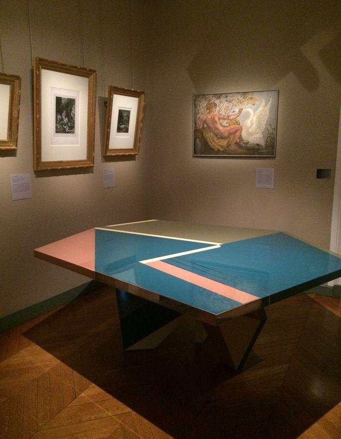 La table de Dimore Studio au Musée Delacroix