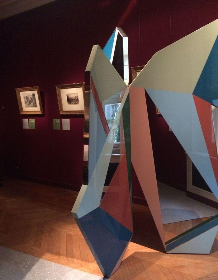 Le paravent de Dimore Studio au Musée Delacroix