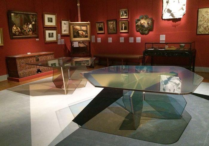 Les tables de Dimore Studio au Musée Delacroix