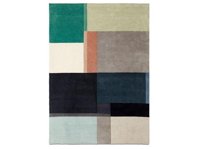 Un tapis esprit mix and match