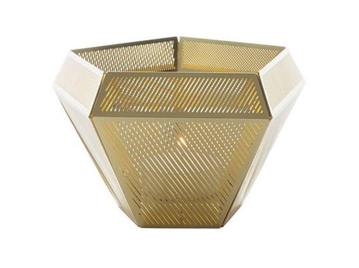 Tendance le laiton brille dans la d co elle d coration for Objet deco geometrique