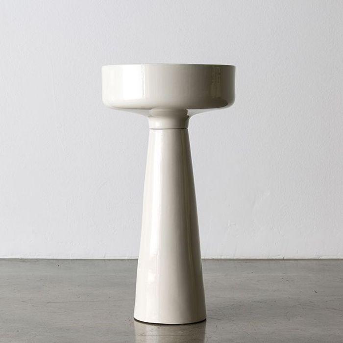 Cache-Pot sur Pieds en Céramique par Angelo Mangiarotti pour Fratelli Brambill