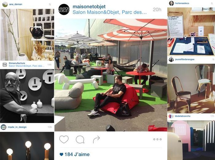 Les instagram de la semaine direction maison objet for Decoration maison instagram