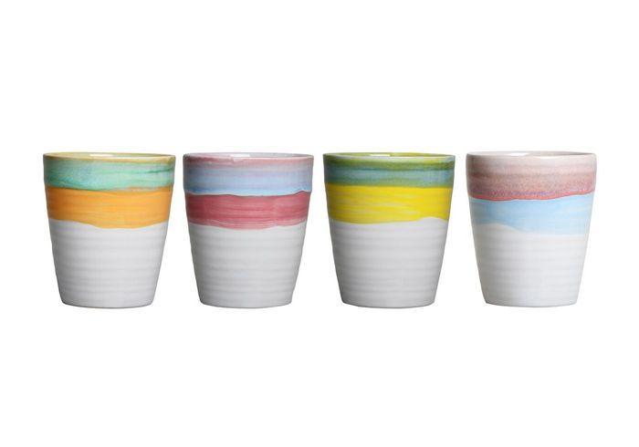Des mugs en argile pour une déco bohème