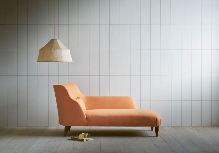 Un fauteuil orange