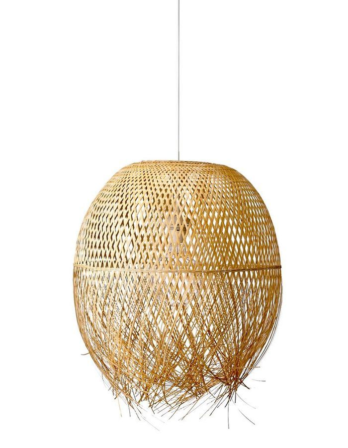 50 39 s exotique ou industriel quelle ambiance pour ma maison elle d - Suspension en bambou ...