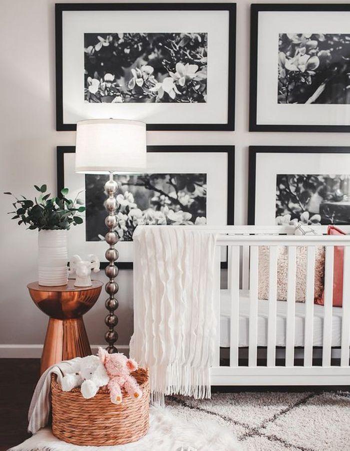 Une chambre de bébé sophistiquée