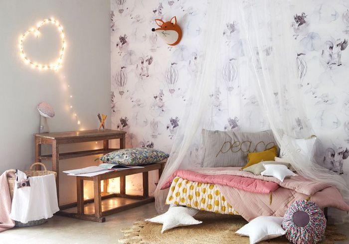Les 30 plus belles chambres de petites filles elle for Deco chambre petite fille