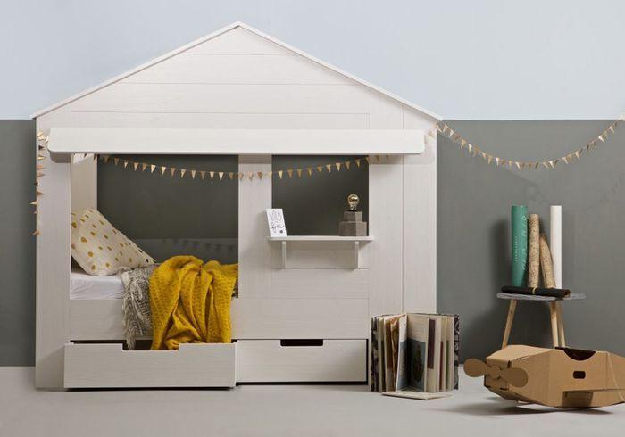 Un lit cabane comme une maison