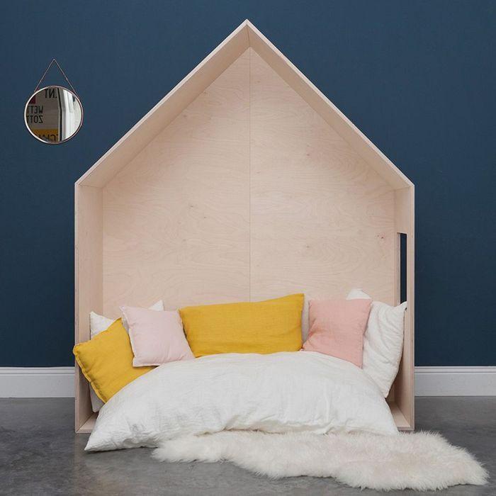 craquez pour un lit cabane dans la chambre d 39 enfant elle d coration. Black Bedroom Furniture Sets. Home Design Ideas