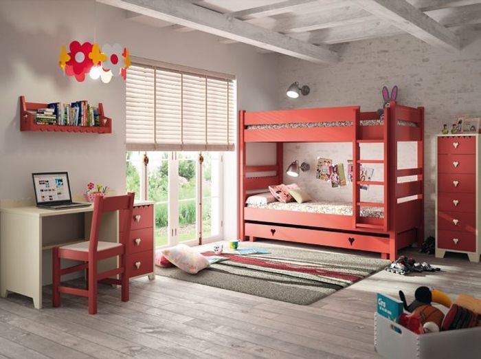 Mezzanine chambre enfant lit mezzanine 2 places but with for Chambre mezzanine enfant