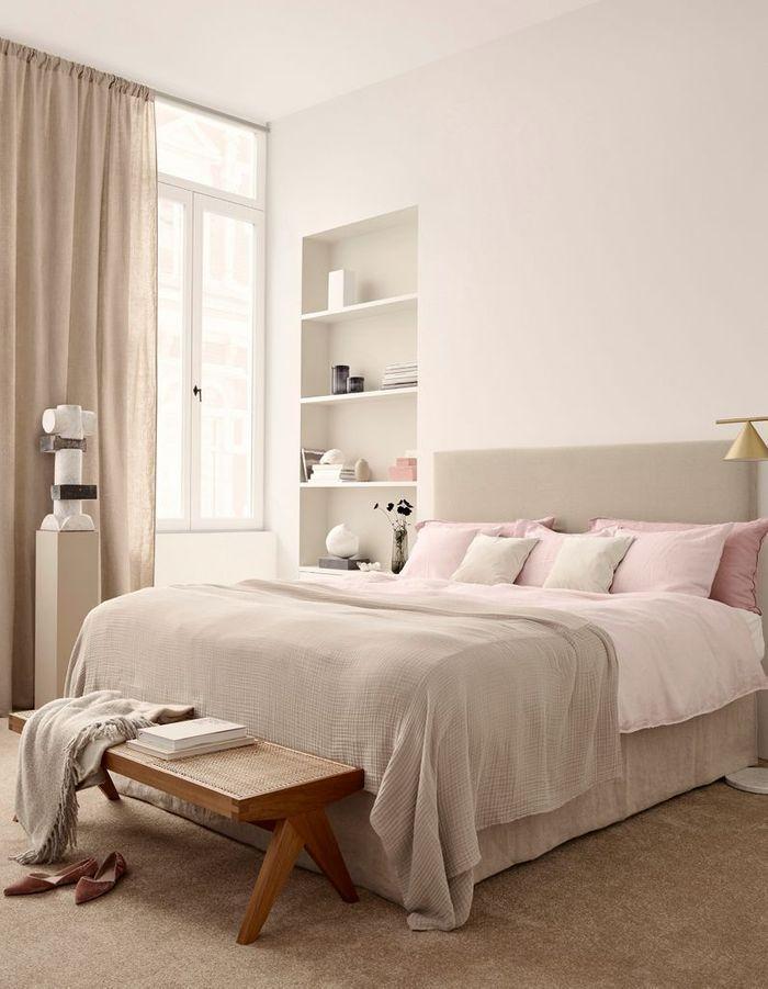 les bonnes id es d co pour la chambre piquer aux magazines elle d coration. Black Bedroom Furniture Sets. Home Design Ideas