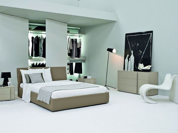 Chambre design creme happy hours