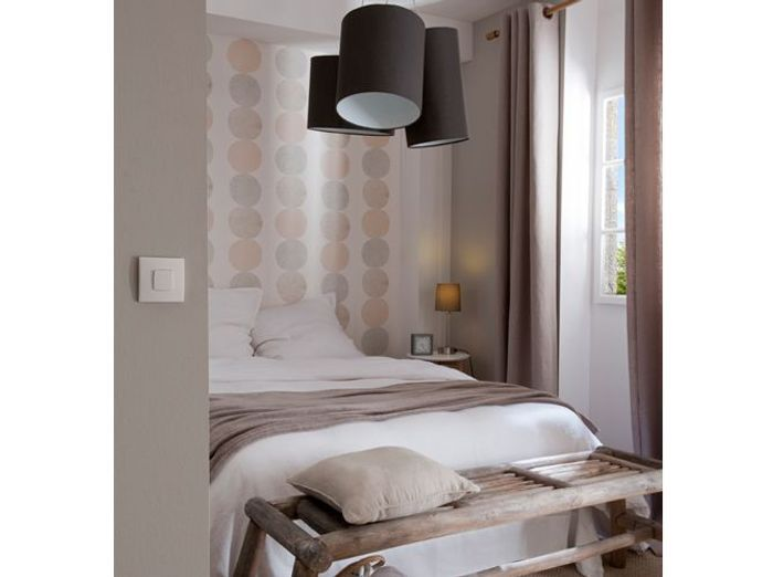Chambre romantique castorama