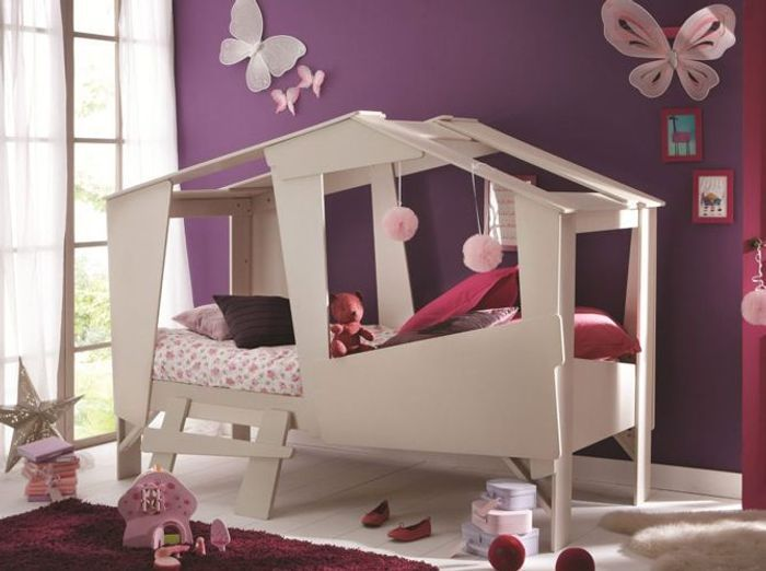 coup de c ur pour les cabanes d enfants elle d coration. Black Bedroom Furniture Sets. Home Design Ideas
