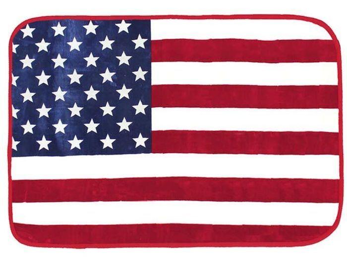 Tapis drapeau américain pour enfant