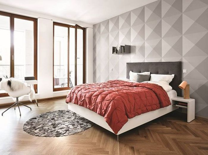 ide de peinture pour chambre adulte idee chambre marron. Black Bedroom Furniture Sets. Home Design Ideas