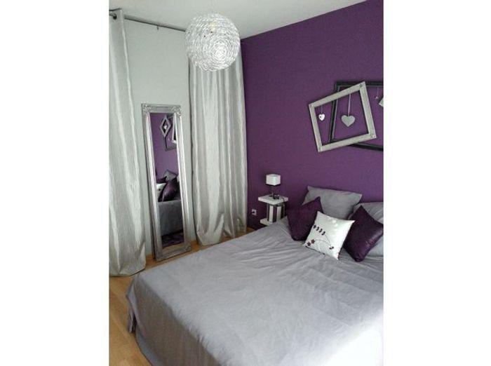 Awesome chambre parentale violet chambre parentale img - La plus belle chambre de fille ...