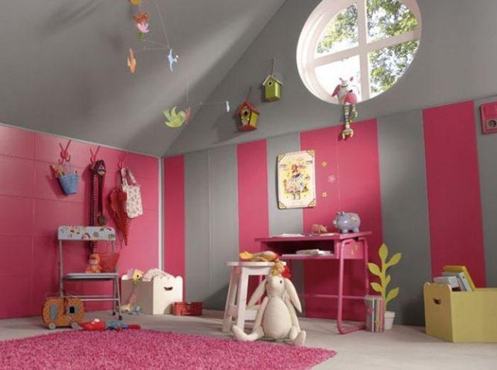 Les plus jolies chambres d 39 enfants de la rentr e elle - Papier peint autocollant leroy merlin ...