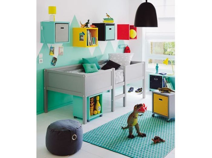 une chambre d enfant pour bien dormir elle d coration. Black Bedroom Furniture Sets. Home Design Ideas