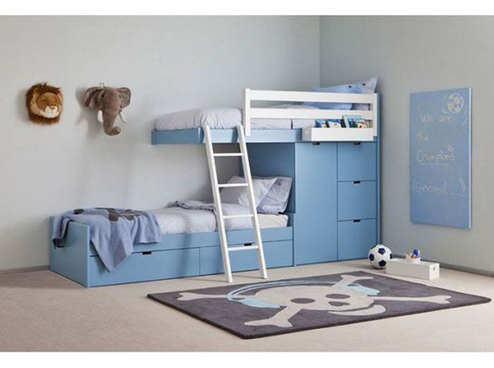 lits d 39 enfants notre s lection de caract re elle. Black Bedroom Furniture Sets. Home Design Ideas