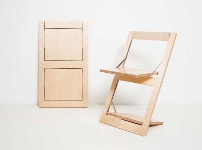 Chaise haute pliante