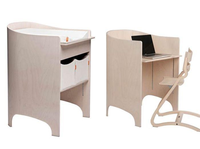 Table à langer et bureau cosy