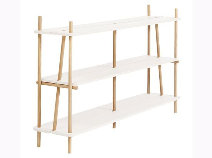 etagere echelle casa encasa tagre murale en pices blanc mat design with etagere echelle casa. Black Bedroom Furniture Sets. Home Design Ideas