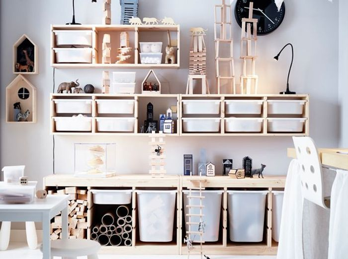 cool rangement modulaire casiers with etagere modulable ikea. Black Bedroom Furniture Sets. Home Design Ideas