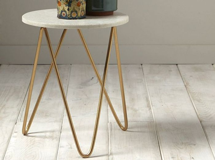 50 tables de chevet pour tous les styles elle d coration for Table de chevet original