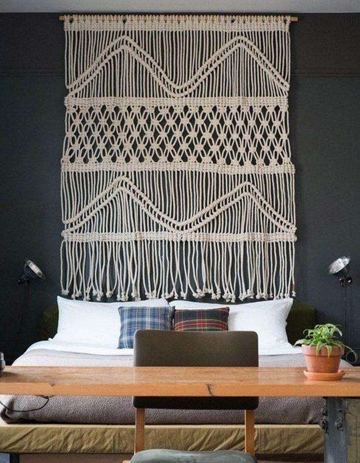 T te de lit 25 t tes de lit pour tous les styles elle for Decoration murale pour tete de lit