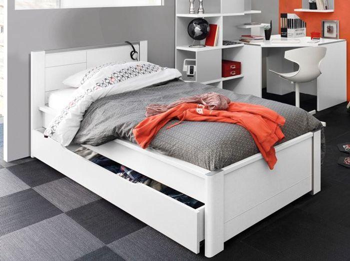 25 lits gigognes pour gagner en espace et en confort elle d coration - Lit gigogne avec tiroir de rangement ...