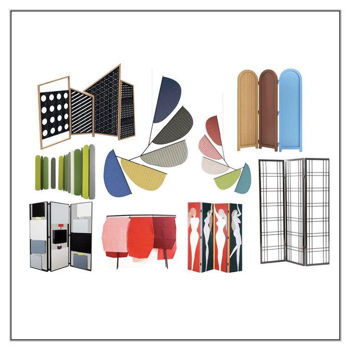paravent design le retour remarqu du paravent elle d coration. Black Bedroom Furniture Sets. Home Design Ideas
