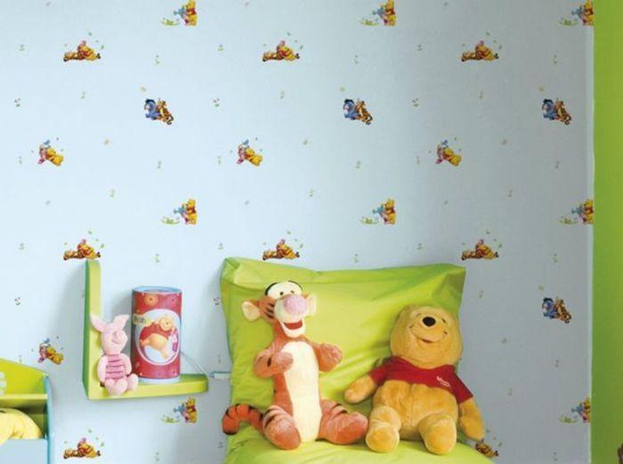 Papier peint enfant 15 id es fun pour sa chambre elle for Papier peint pour chambre bebe