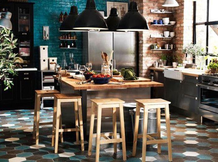 25 astuces pour apporter une touche de couleur votre for Idee cuisine originale