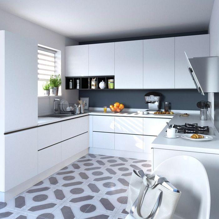 6. Une cuisine aux touches de gris