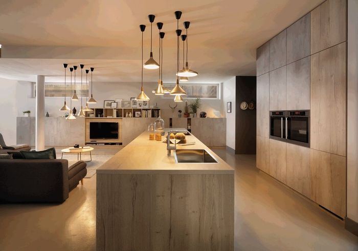 un plan de travail en bois stratifi pour une cuisine scandinave des plans de travail pour. Black Bedroom Furniture Sets. Home Design Ideas