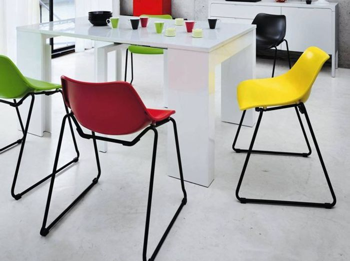 Best amazing fly siege en coque design pop jaune rouge vert noir with chaises pliantes fly with chaises cuisine fly