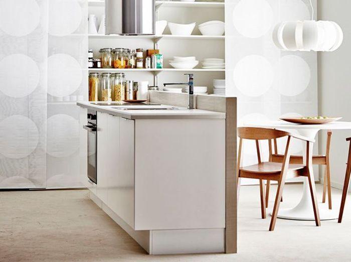 Cuisine am ricaine optez pour un espace de vie convivial for Idee de separation cuisine salle a manger