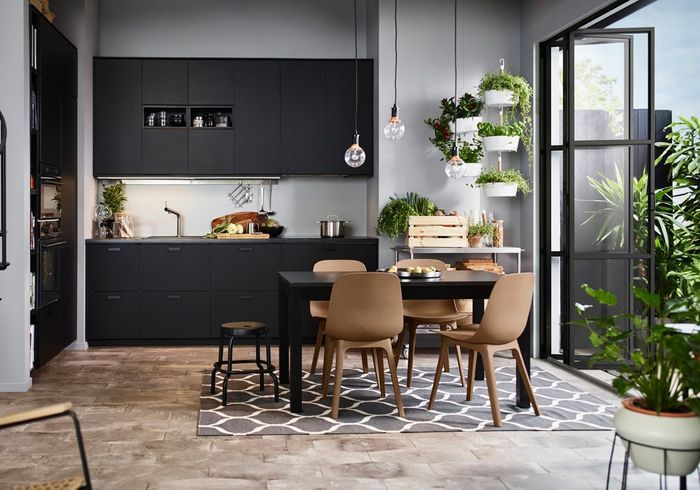 cuisine ikea nos mod les de cuisines pr f r s elle d coration. Black Bedroom Furniture Sets. Home Design Ideas