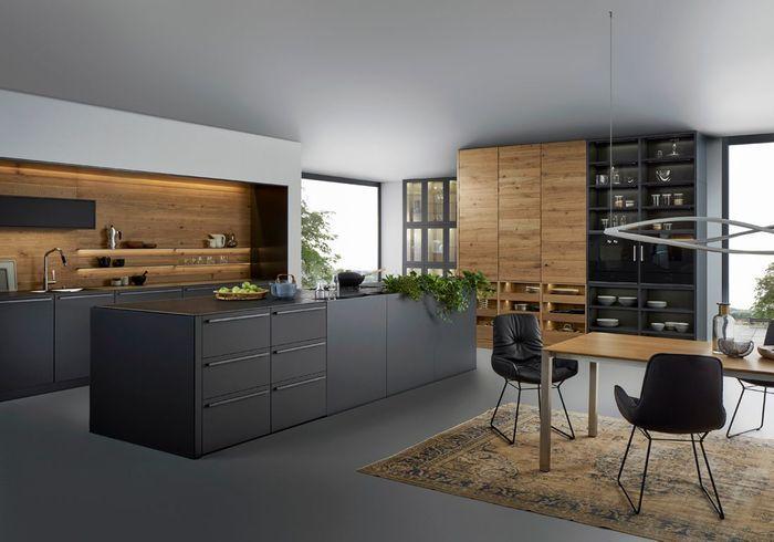 Cuisine moderne 25 cuisines contemporaines pour vous inspirer elle d coration for Leicht cuisine