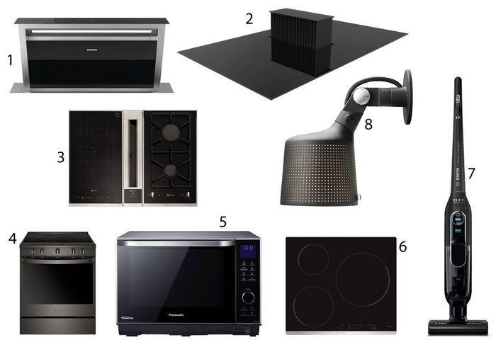 La sélection de la rédac pour une cuisine noire