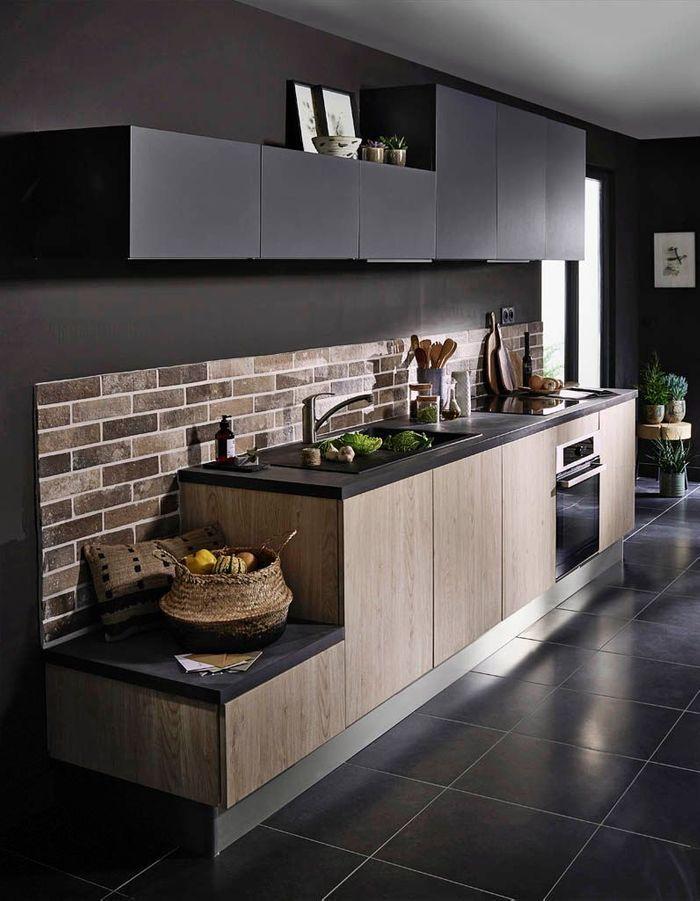 cuisine tendance d couvrez toutes les tendances cuisine suivre en 2017 elle d coration. Black Bedroom Furniture Sets. Home Design Ideas