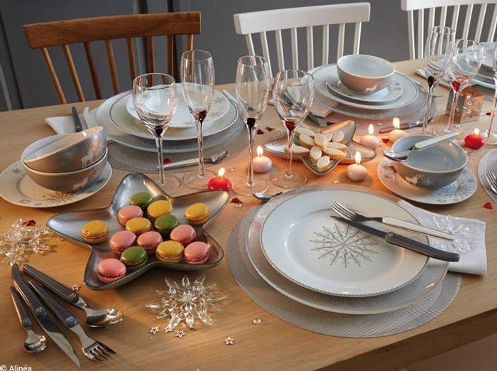 Nos 40 id es d co pour une table de r veillon sur son 31 - Decoration des plats en cuisine ...