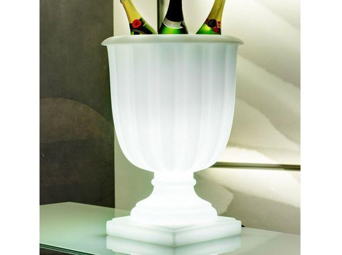 Seau a champagne lumineux