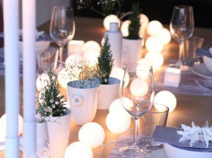 Deco table anniversaire - Decoration table reveillon jour de l an ...