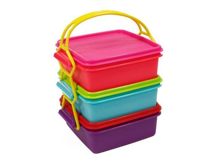 Lunch box compartiment colore truffaut