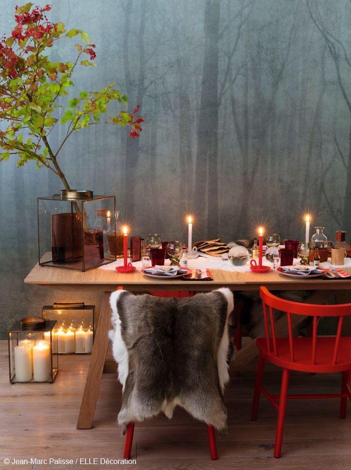 nos tables de f tes inspir es des 4 coins du monde elle d coration. Black Bedroom Furniture Sets. Home Design Ideas