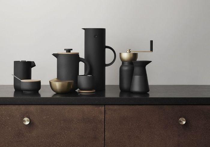 Service à thé et café en céramique Stelton